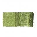 Szalik komin wzorzysty – odcienie zieleni