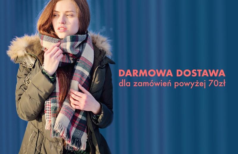 Darmowa dostawa dla zamówień powyżej 70zł - sklep internetowy dqstore.pl