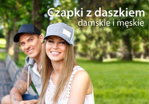 Czapki z daszkiem damskie i męskie w kategorii Czapki z daszkiem - sklep internetowy DQstore.pl